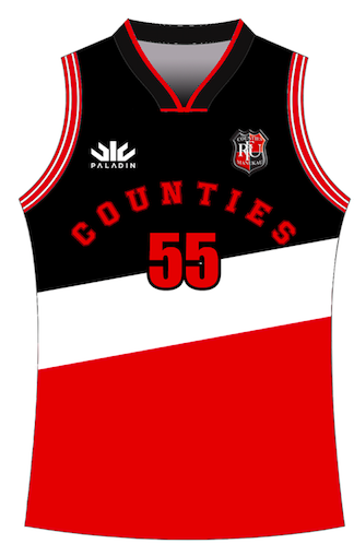 Counties Manukau Basketball Singlet