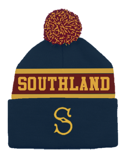 Southland Mitre 10 Stags Retro Beanie