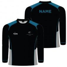 LONG BAY COLLEGE - LONG SLEEVE GIRLS TRAINING TEE
