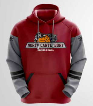 North Canterbury Basketball Rep Senior Hoody