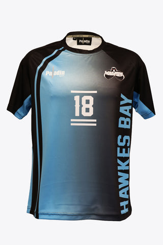 Hawke's Bay Magpies Replica Training Shirt (Mens)