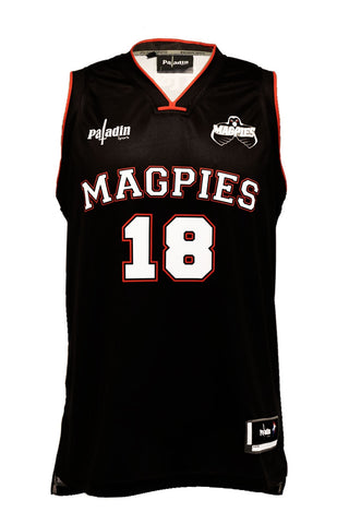 Hawke's Bay Magpies NBA Style Basketball Singlet (Kids)
