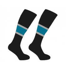 LONG BAY COLLEGE – SOCKS, FIRST TEAMS WITH TEAL