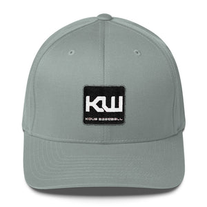 Kdub Baseball Box Logo FlexFit Hat