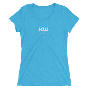 Kdub Baseball-Ladies' short sleeve t-shirt