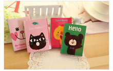 Animal Sticky Memo Pad Booklet
