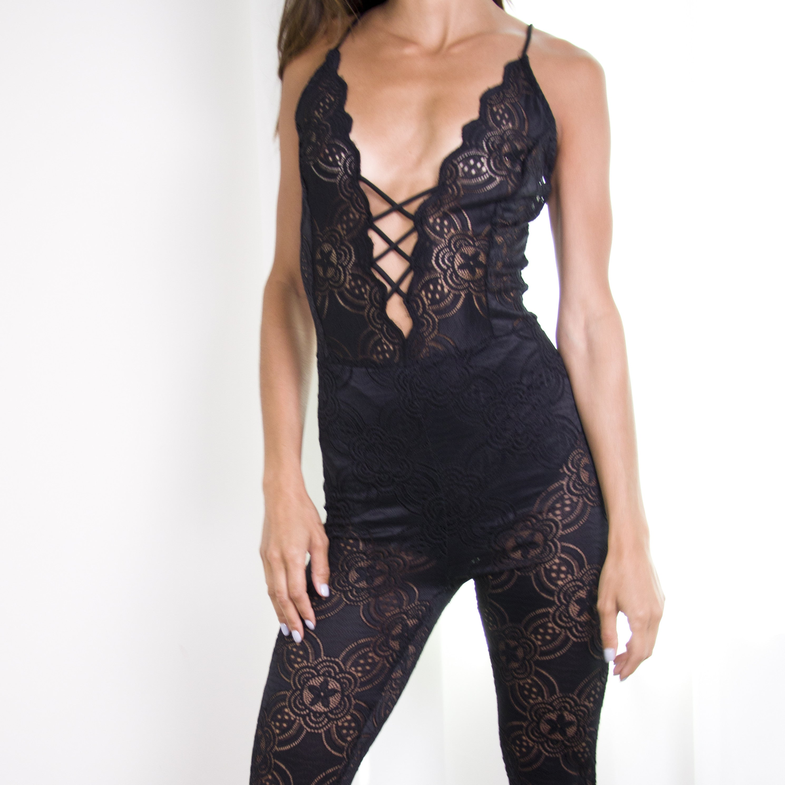 Rarekitten Jumpsuit- Black - RareGal