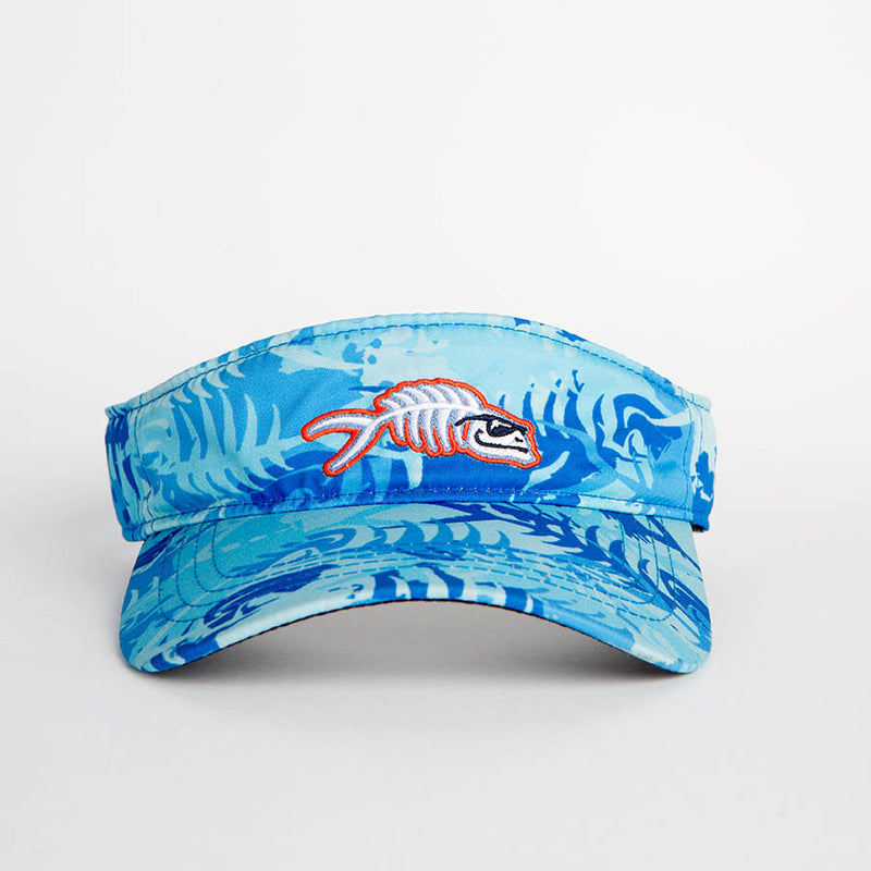 Bone On Sportswear | Icon Blue Camo Visor