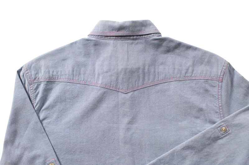 Bone On Sportswear | Heritage Chambray Long Sleeve Button Down Shirt