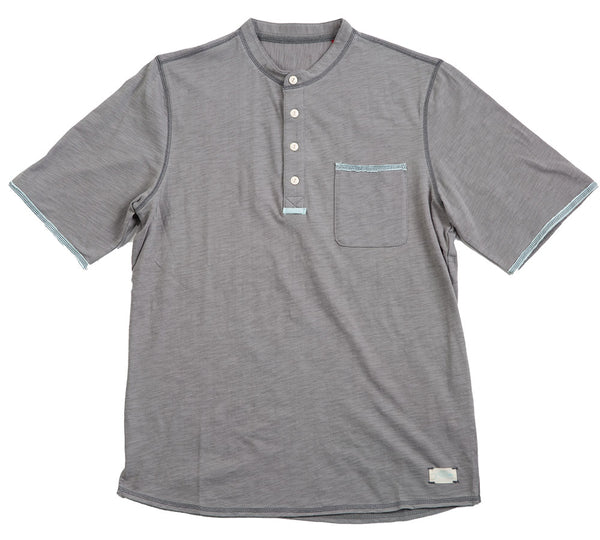 Sunrise Henley short sleeve with pocket