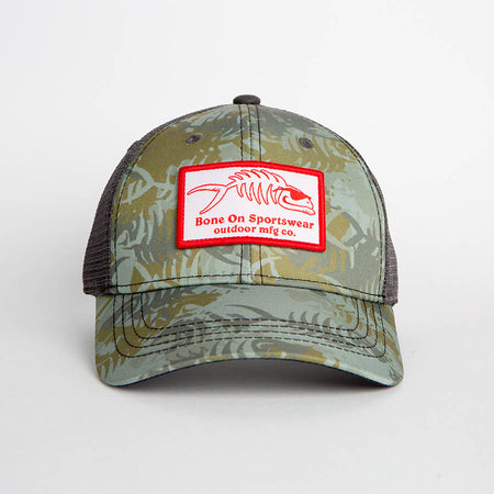 Bone On Sportswear | Hunter Camo Hat