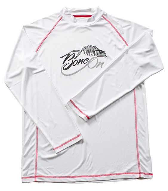 Bone On Sportswear | BoneDry Crew Neck Long Sleeve Fishing Shirt