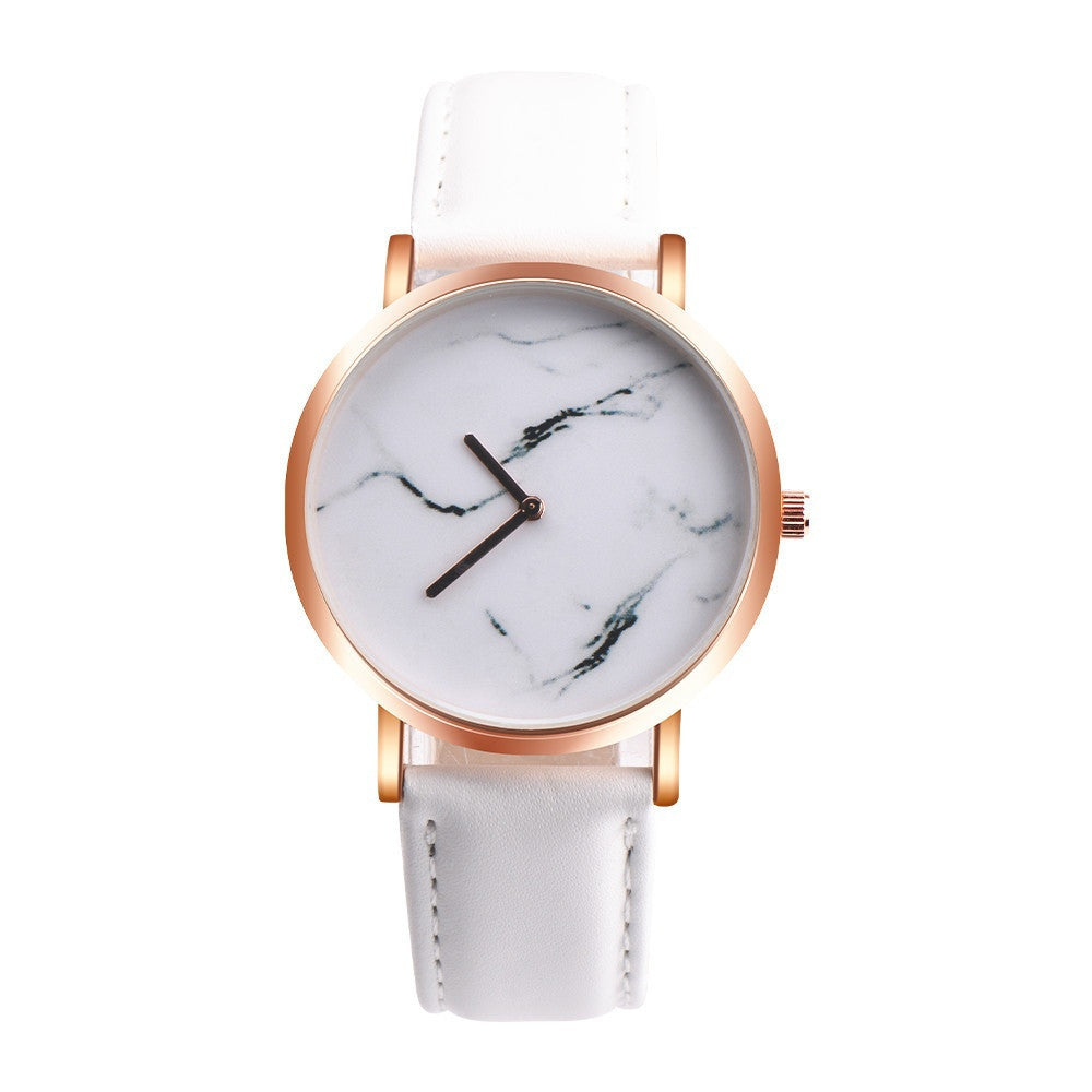 Marble Luxury Stainless Steel Watch