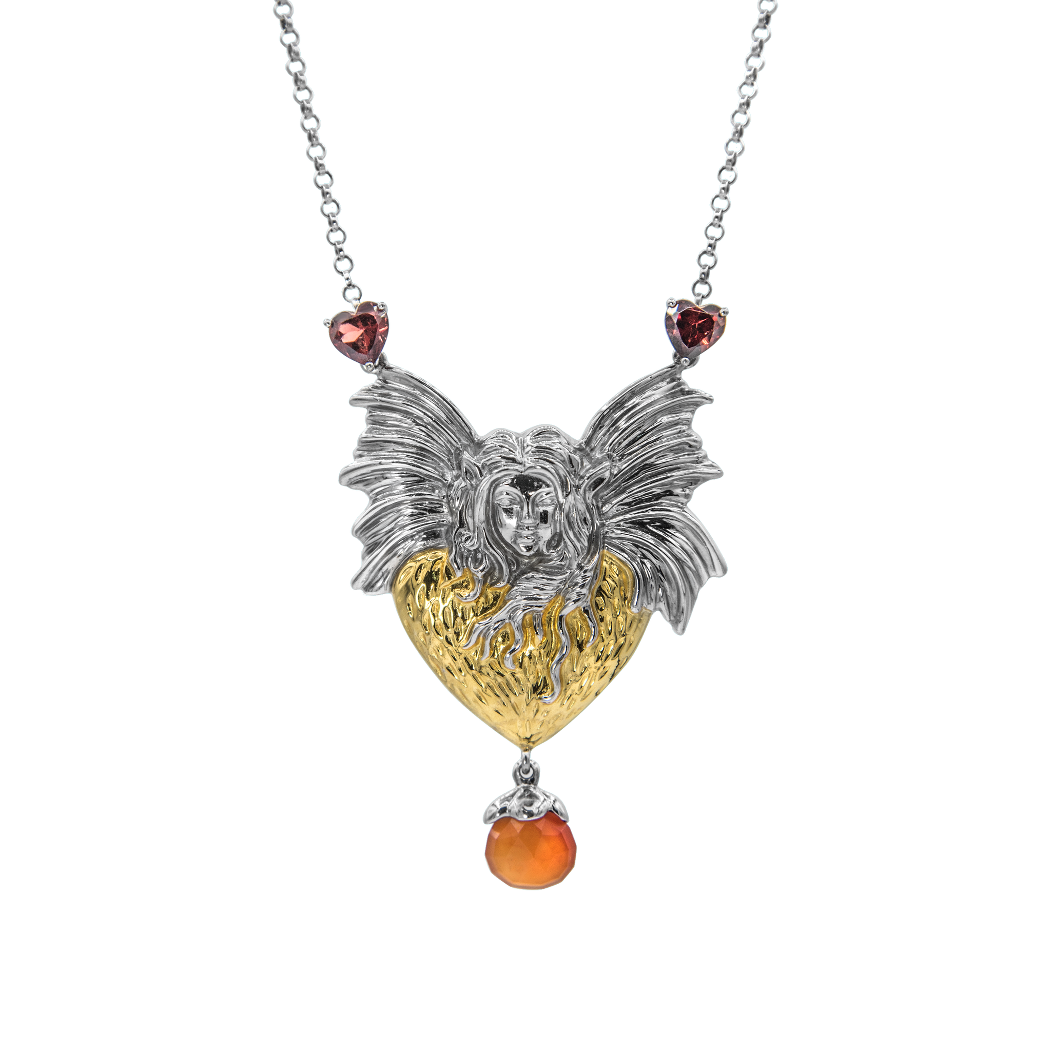 fairy large necklace everley joy fine night jewellers products morning london good goodnight vermeil
