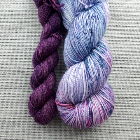 Take a Hike Sock - Blueberry Girl + Prairie Berry Set