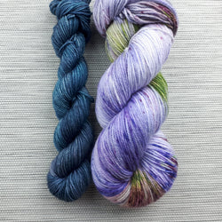 Take a Hike Sock - Sunlit Lavender + Ocean Deep Set