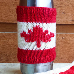 Maple Leaf Cup Cozy Kit