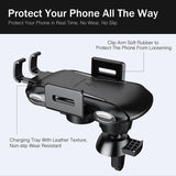 Wireless 10w Car Charger and Holder for Android Phones