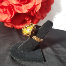 Leopardskin Jasper Ring