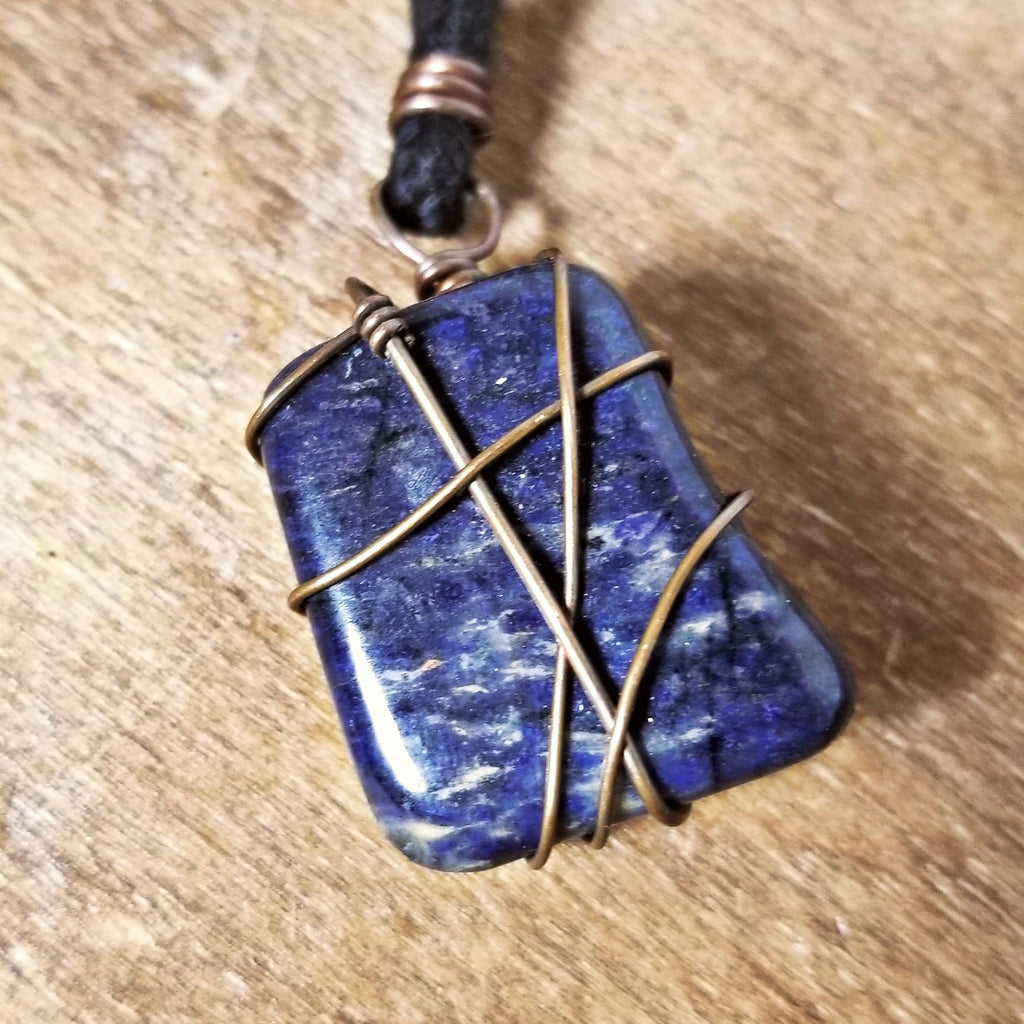Dumortierite Necklace