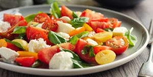 Honey Vinaigrette and Heirloom Tomato Salad Recipe