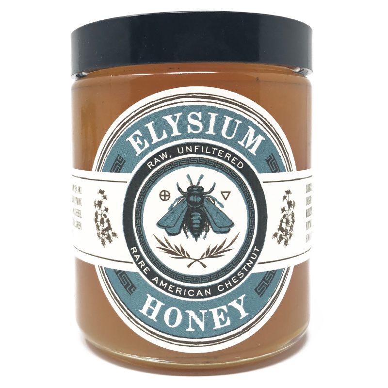 Rare American Chestnut Honey