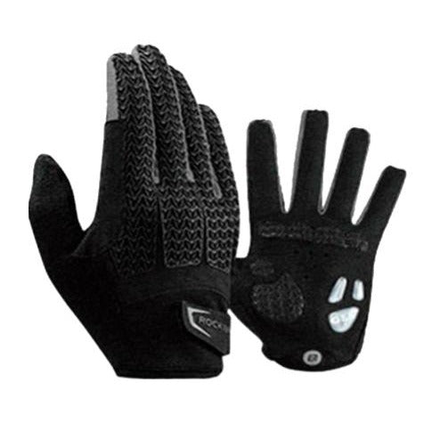 Guantes completos de Gel Color Negro XL