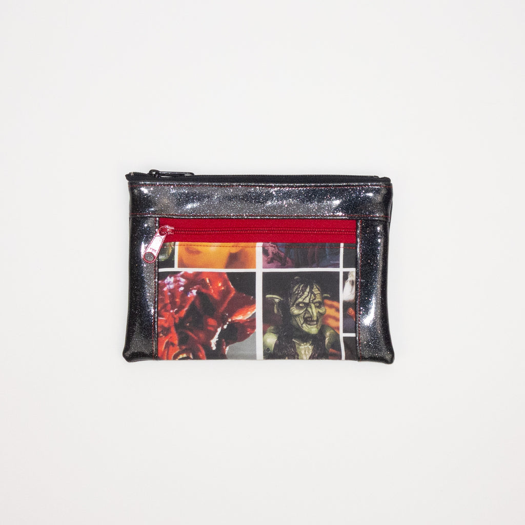 Legend Double Zip Pouch with Vinyl