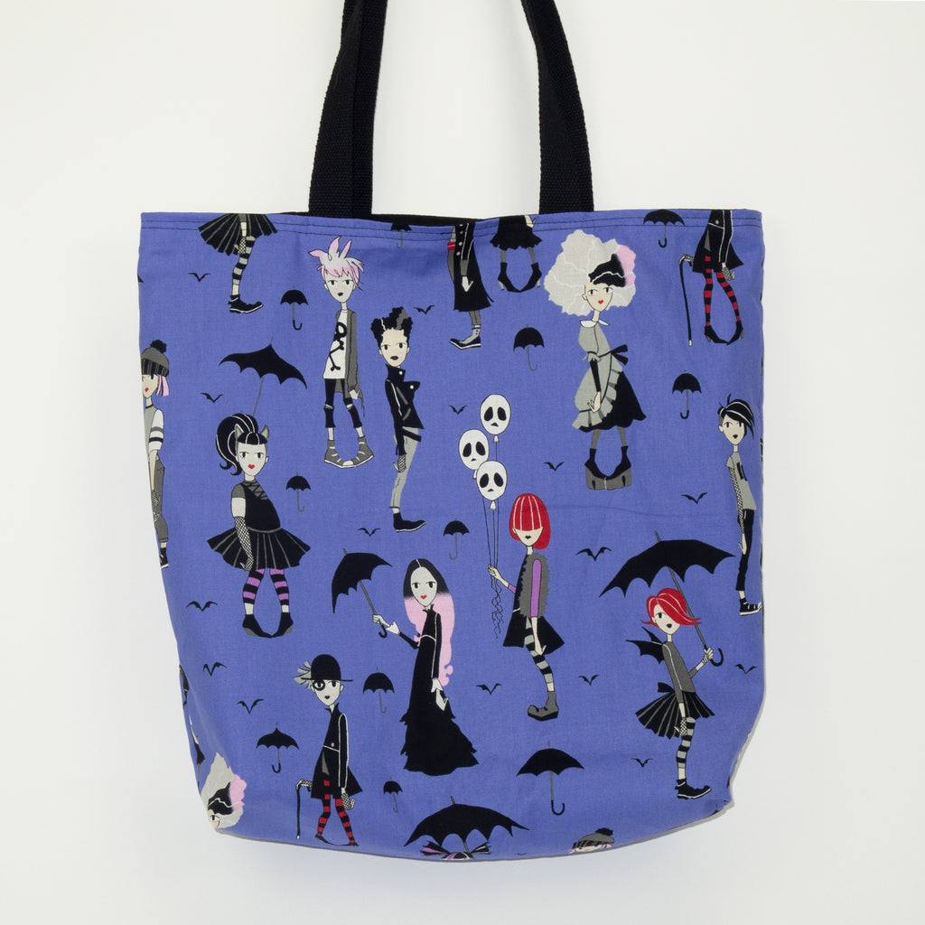 Goth Girls (Purple) Tote Bag