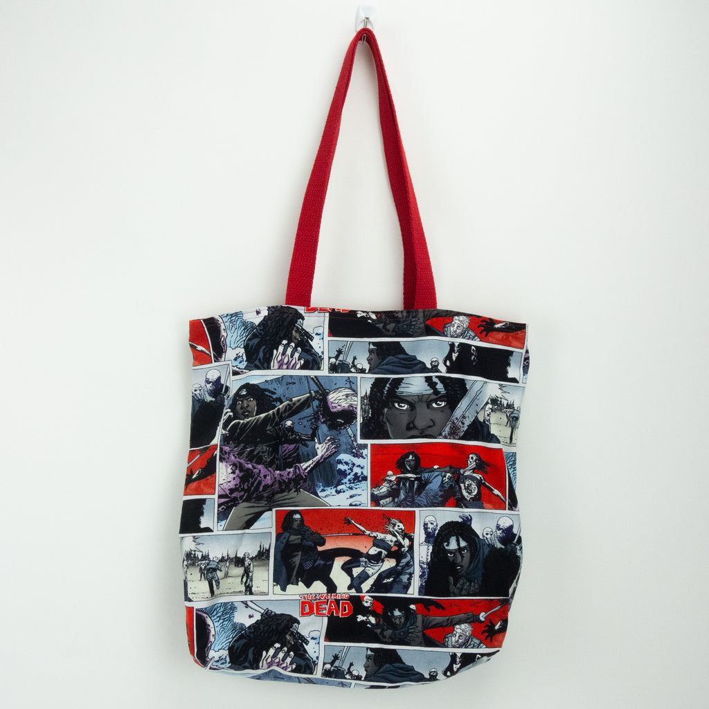 Michonne of The Walking Dead Tote Bag