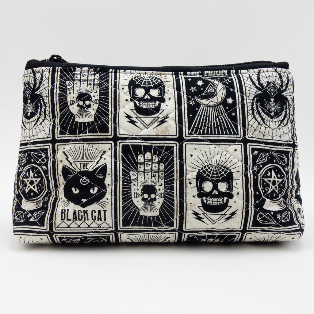 Black Cat Black Magic Medium Pouch