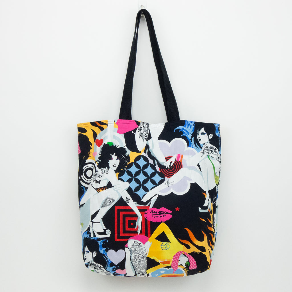Tattooed Girls Tote Bag
