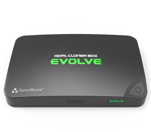 HDML-Cloner Box Evolve, Capture videos and games to USB flash drive/TF card/PC, Schedule recording, remote control, two HDMI inputs, 4K video input supported, CEC supported.
