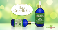 Fiberganic Premium Hair Growth Oil Serum Unisex 2 Oz
