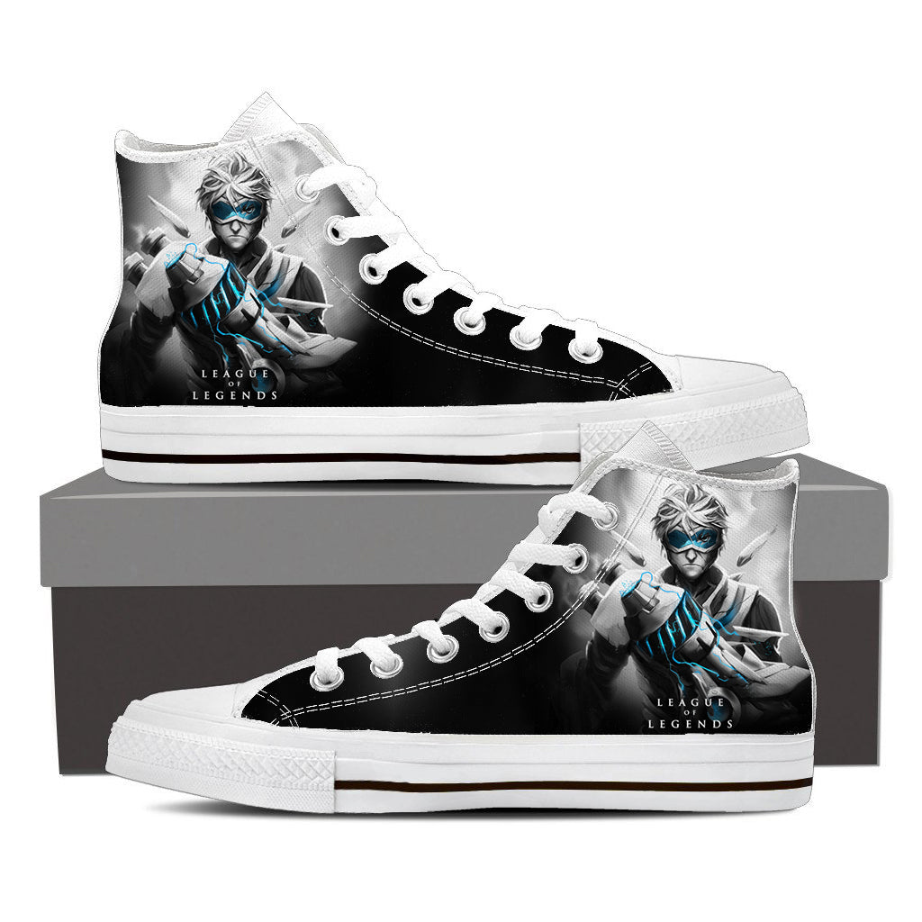 League of Legends Ezreal Prodigal Explorer Cool Sneaker Converse Shoes