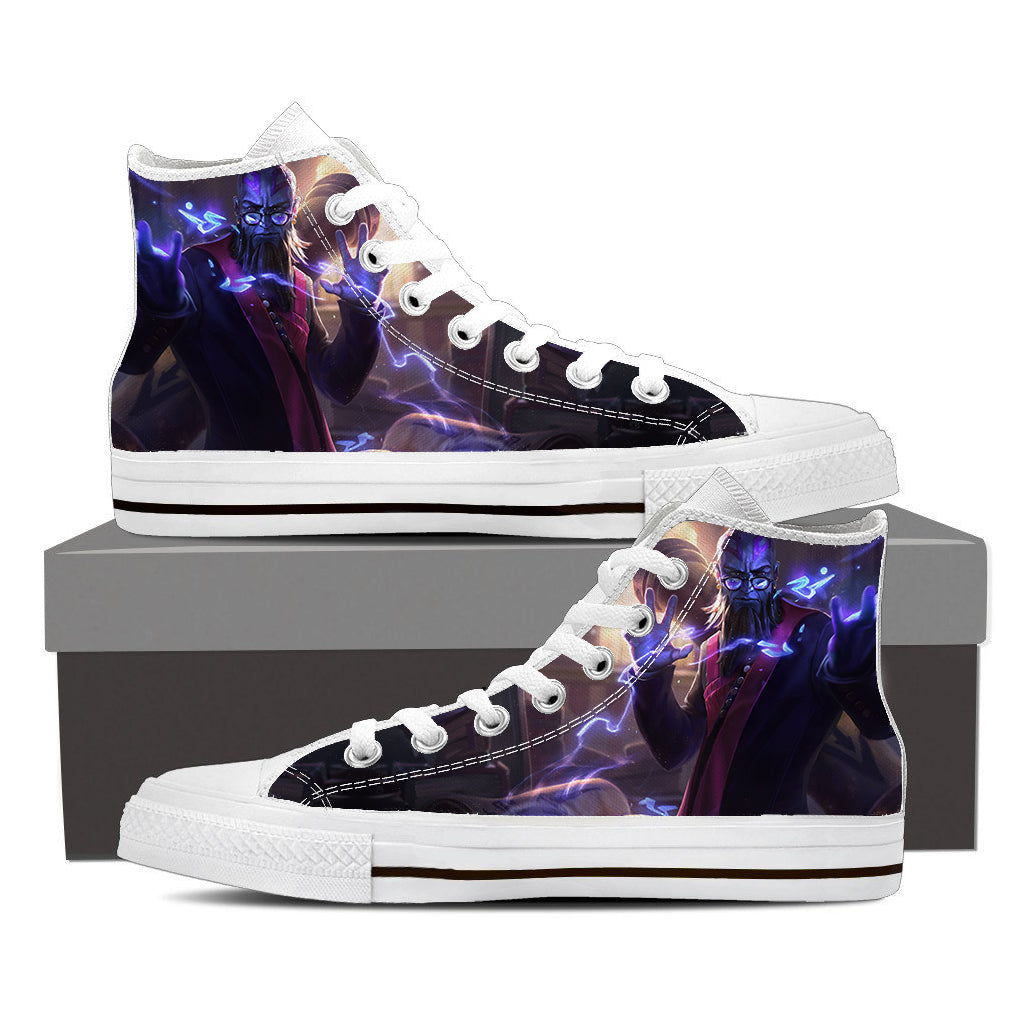 5570edf94cc1c8 League of Legends Professor Ryze Champion Cool Design Converse Shoes ...