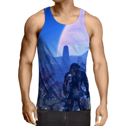 Mass Effect Andromeda Planet Alien Concept Game Tank Top