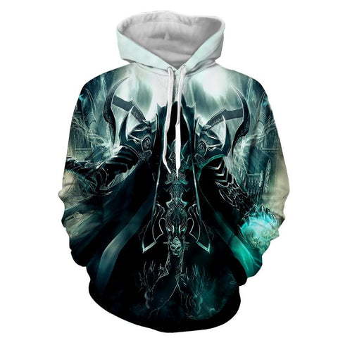 Diablo 3 Reaper of Soul Mathael Death Angel Game Hoodie