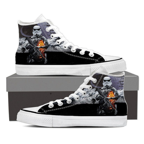 Battlefield 3 Star Wars Storm Troopers Trending Sneaker Converse Shoes