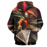 League of Legends Pantheon Artisan of War Fighter 3D Print LOL Hoodie - Gaming Geek Kingdom