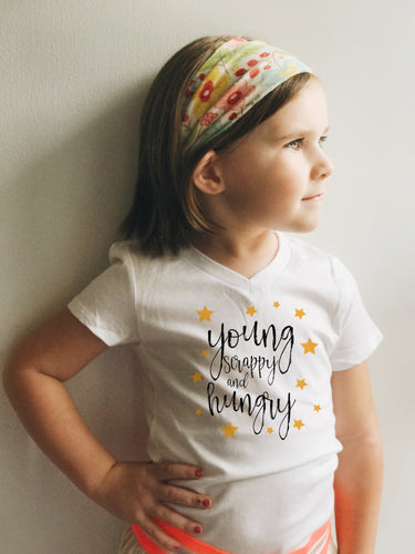 NEW! Young Scrappy and Hungry Shirt for Youth