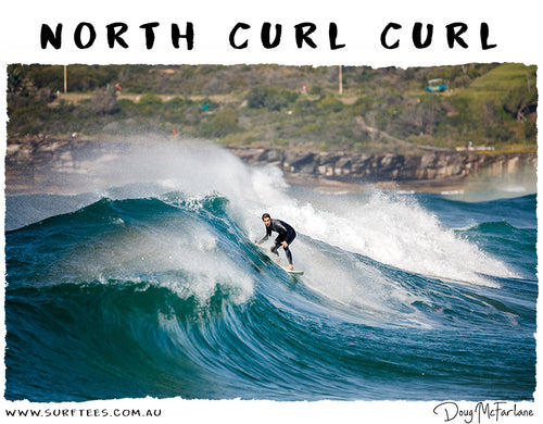 NORTH CURL CURL TEE