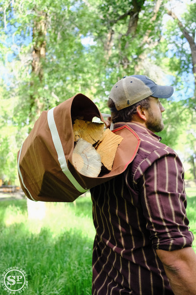 Duck Canvas Wood/Log Carrier