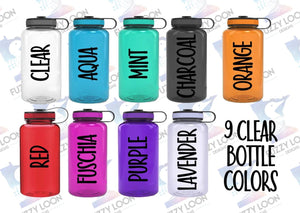 Nurse Power Personalized Water Bottle | 34 oz