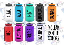 Just a Girl Who Loves Peckers Personalized Water Bottle | 34oz