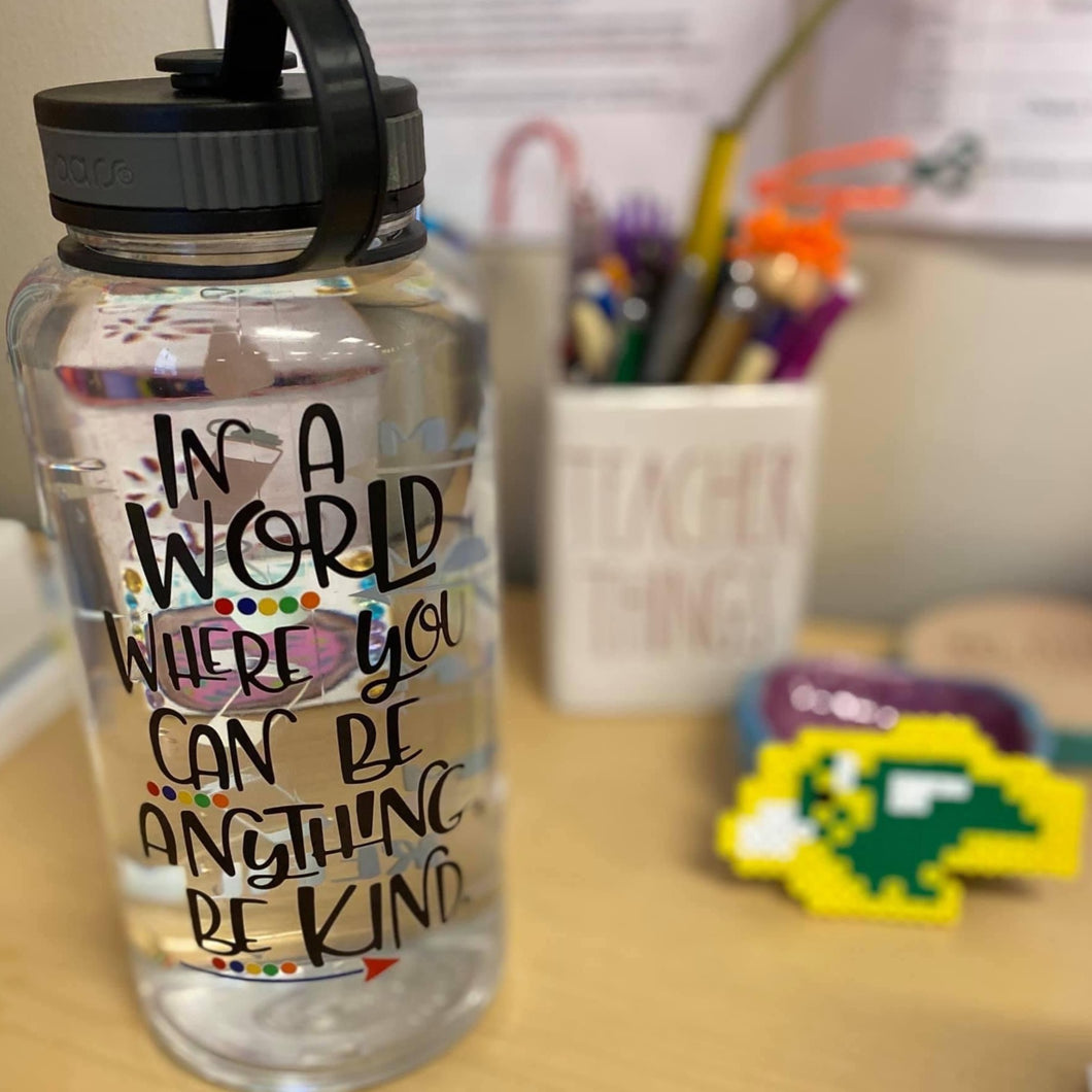 Be Kind Water Bottle | 34oz