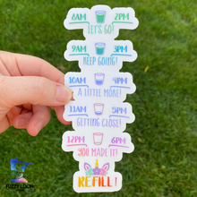 Suck It Up Buttercup Unicorn | Motivational Water Bottle Sticker