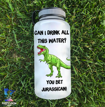 You Bet Jurassican Dinosaur Water Bottle | 34oz