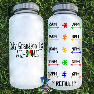 My ____ is Au-Some Water Bottle | 34oz