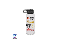 Mind of a Queen | 32oz Insulated Bottle with Straw and Spout